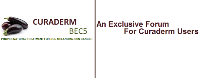 Announcing… The New & Exclusive Curaderm BEC5 Skin Cancer Forum We have decided to start our very own Curaderm BEC5 Skin Cancer Forum. There is no real forum out there […]